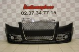 Pare chocs avant Audi A4 RS style Calandre chrome et noir