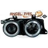 Phares angel eyes pour BMW E34 E32