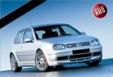 RAJOUT DU PARE-CHOCS AVANT VW GOLF 4 25'TH ANNIVERSAIRE LOOK
