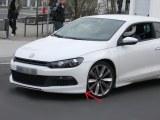 RAJOUT DU PARE-CHOCS AVANT VW SCIROCCO (POUR LA VERSION STANDARD)