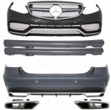 KIT CARROSSERIE COMPLET MERCEDES CLASSE E W212 FACELIFT LOOK E63 AMG 2013-2016
