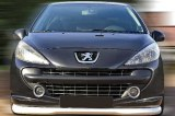 Rajout de pare choc avant Peugeot 207 Sport
