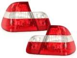 Feux Arrières pour BMW E46 Phase 2 Berline Rouge-Blanc
