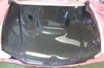 Capot carbone look M3-E92 pour BMW Série 1 E87/E81/E82/E88 (04-11) berline/coupé/cabriolet