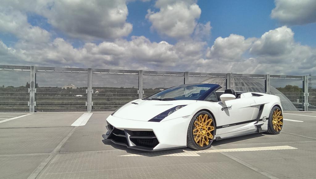 Kit Carrosserie Prior Design Limited Edtion Pour Lamborghini Gallardo