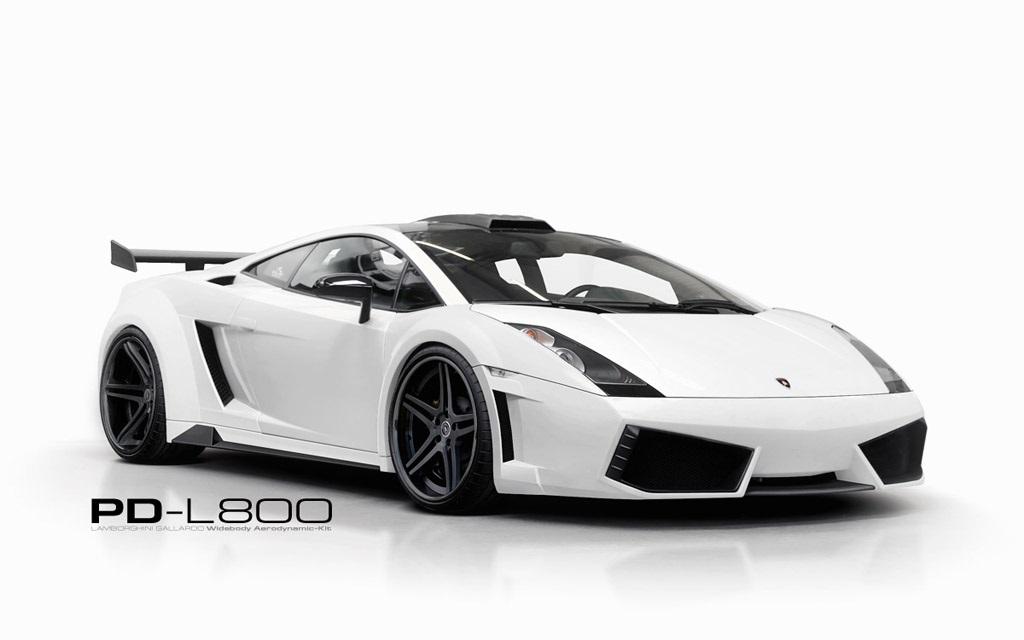 Kit Carrosserie Prior Design Pd L800 Wb Pour Lamborghini Gallardo