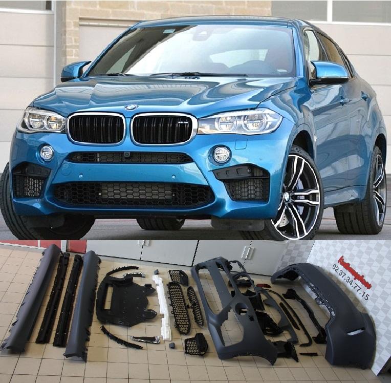 Bmw X6m Review: Kit-Carrosserie-X6M-pour-BMW-X6-F16-kustomorphose