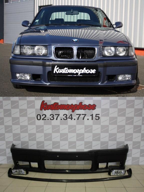 PARE-CHOCS AVANT BMW SÉRIE 3 E36 1991-1993 À PEINDRE