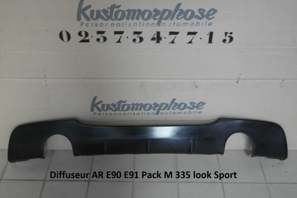 Diffuseur Ar Bmw Serie 3 E90 E91 Pack M 335 Look Sport