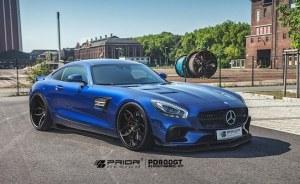Kit carrosserie Prior Design PD800 GT pour Mercedes AMG GT / GTS