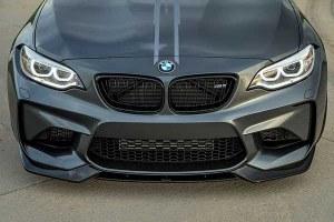 lame de pare choc avant carbone VOR Style pour BMW Série 2 M2 F87