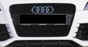 Calandre Audi TT RS Noir/brillant