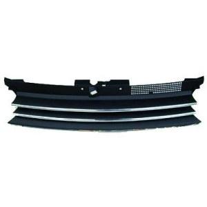 calandre design, noir, avec barres chromés GOLF 4