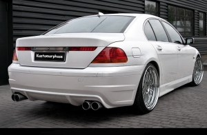 Pare chocs arrière BMW 7ER E65