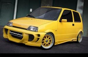 Pare chocs avant Fiat Cinquecento