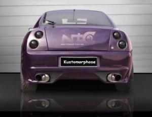 Pare chocs Arrière Fiat Coupé