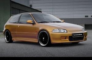 Bas de caisse Honda civic 92-96