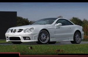 Pare chocs avant Mercedes SL R230