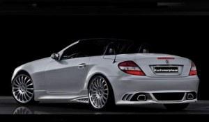 Pare chocs arrière Mercedes SLK W171