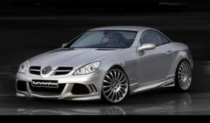 Pare chocs avant Mercedes SLK W171