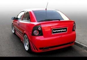 Pare chocs arrière Opel ASTRA G Coupé