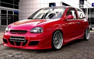 Bas de caisse Opel CORSA B