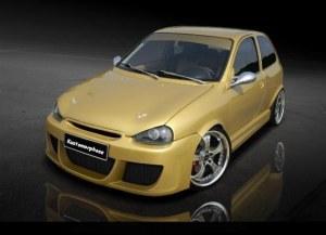Pare chocs avant Opel corsa B