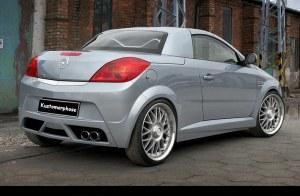 Pare chocs arrière Opel Tigra Twin-top