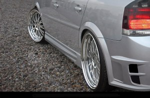 Bas de caisse Opel Vectra C