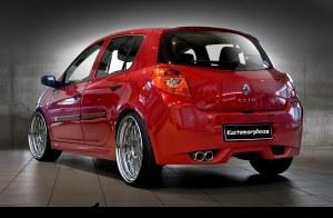 Pare chocs arrière Renault Clio III 2005