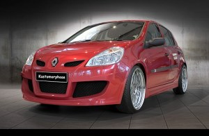Pare chocs avant Renault Clio II 2005