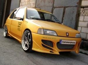 Pare chocs avant Peugeot 106