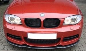 Lame avant Carbone pour BMW E82 E88 Pack M