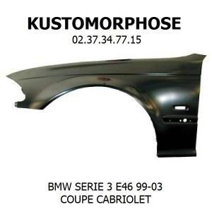 Aile av droite BMW E46 coupé cabriolet 1999 à 2003