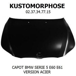 Capot BMW E60 Série 5 2003-2010 acier
