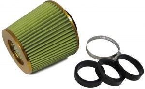 Filtres à Air Power- Filter, Anodisé Or, universel, 60/65/70MM