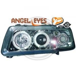 phares design, chrome A3 8L ANGEL EYES