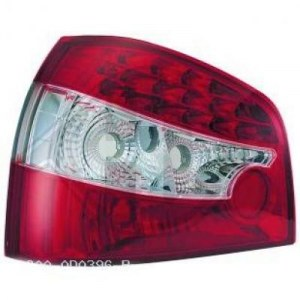 feux arrières design, rouge/blanc a LED A3 8L