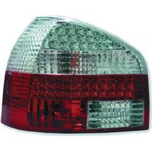 feux arrières design type M3, rouge/blanc a LED A3 8P