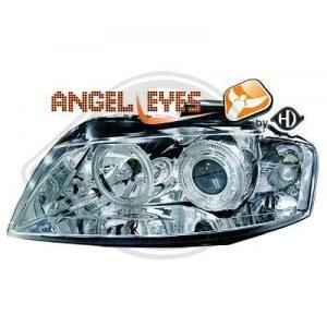 phares design, chrome A3 8P ANGEL EYES