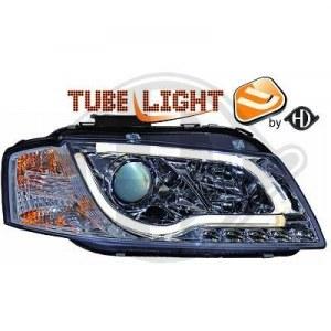phares design Néon cristal/chrome A3