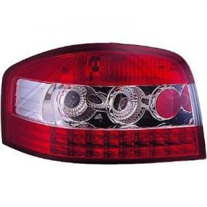 feux ar design cristal/rouge-chrome A3