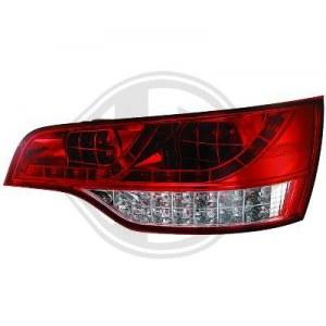 feux arrières design, rouge/blanc a LED Q7