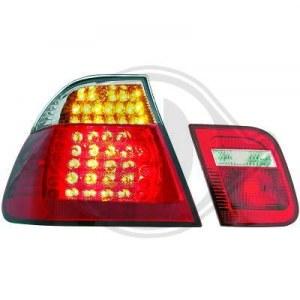 Feux Arrières à LED pour BMW E46 Berline Look M3