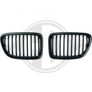Calandre pour BMW X1 Noire
