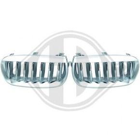 Calandre chrome pour BMW X3