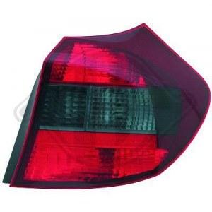 feu arriéré rouge/noir BMW E87, 04-07