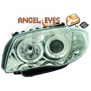 phares Angel Eyes fond Chrome BMW E87