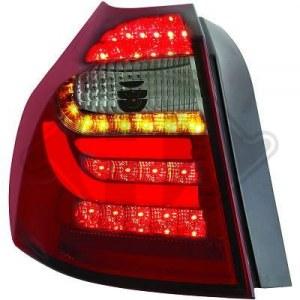 feux arriéré, BMW E87, 04-07 a led cristal/rouge-noir
