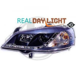 phares à LED feux diurnes Opel Astra G